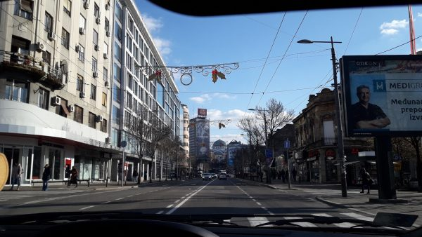 belgrade car tour