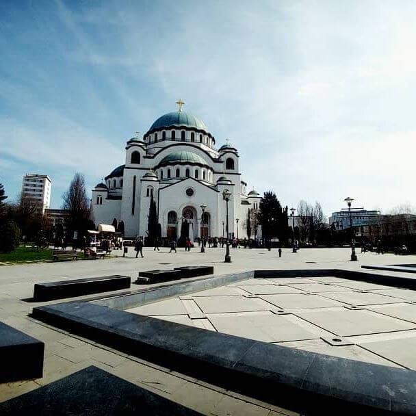 Sent Sava Temple