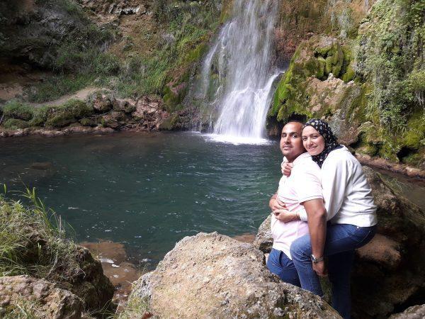 East Serbia waterfall