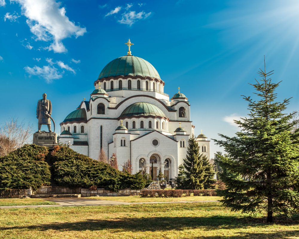 Most beautiful churches and cathedrals in belgrade